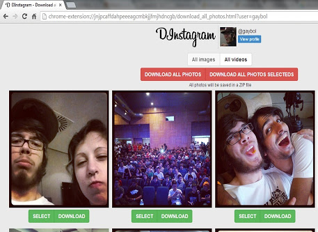 Instagram Chrome Eklentisi indir