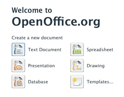 OpenOffice.org Office Program indir