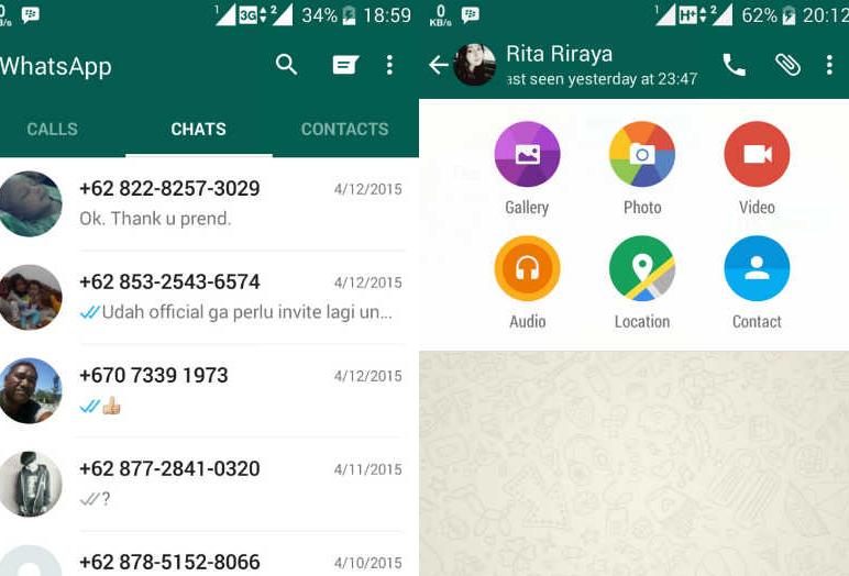 Whatsapp dosya gönder