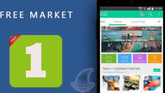 1Mobile Market APK indir