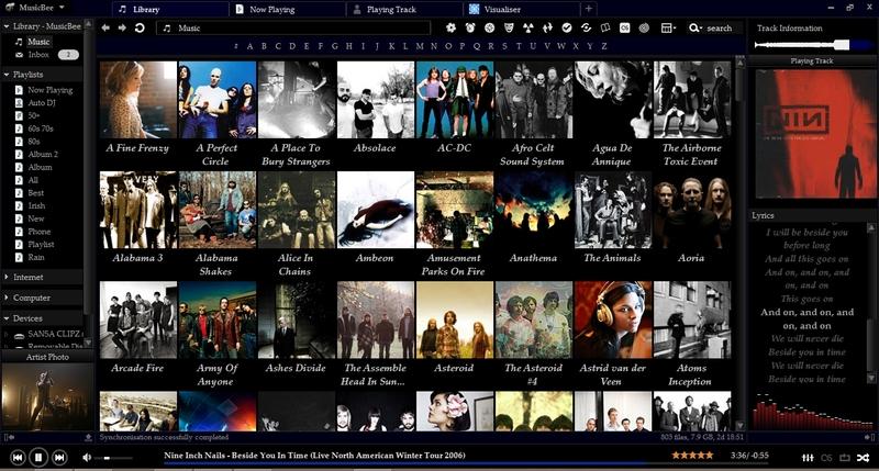 MusicBee Müzik Oynatıcısı indir